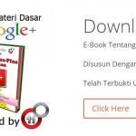 "Download Ebook Google Plus ""Omzet Plus Plus dengan Google Plus"""
