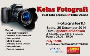 Kelas Fotografi 20 Desember 2014