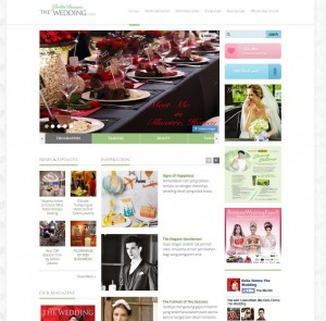 Website Majalah BellaDonna The Wedding