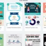5 Aplikasi Keren dan FREE Untuk Membuat infografik
