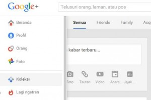 Fitur Google Plus - Koleksi