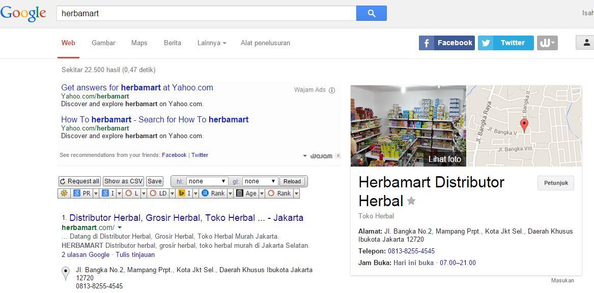 Hasil pencarian Keyword : Herbamart