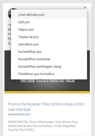 Engagement Google Plus