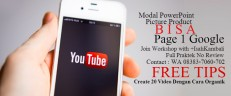 Cara Belajar Youtube Marketing For UKM
