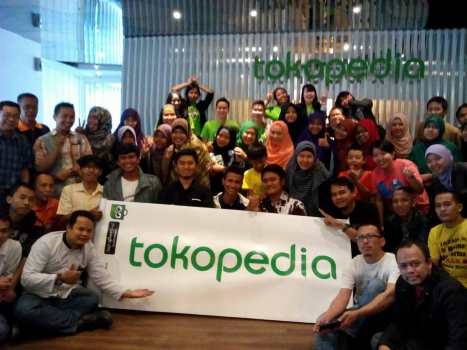 Event Tokopedia dengan Komunitas Melek Internet Hari ke-2