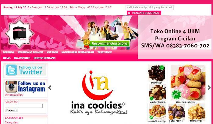 Toko Online Untuk UKM Start 35Ribu Per Bulan
