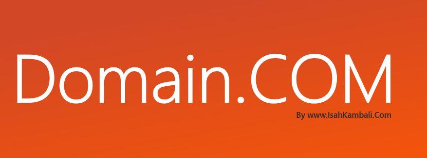Perlukah Menggunakan Domain Com