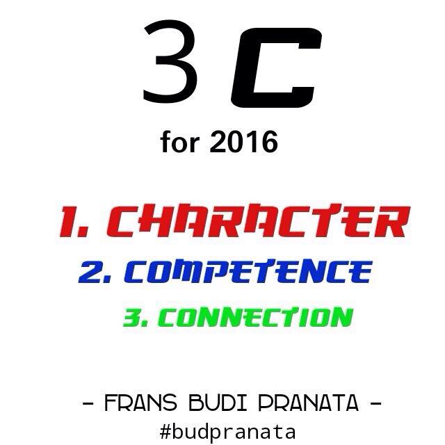 Frans Budi Pranata - Konsep 3 C