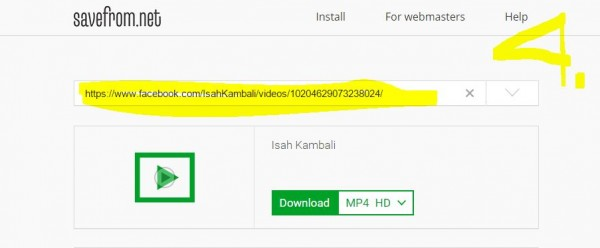 Cara mudah download video Facebook dengan Savefrom