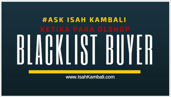 Tren Baru Blacklist Buyer PHP
