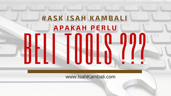 apakah perlu membeli tools marketing