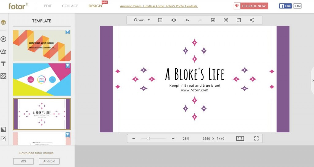 Aplikasi edit foto , poster dan sosial media