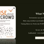 Lets Think Like Indrawan Nugroho – Rise Above The Crowd
