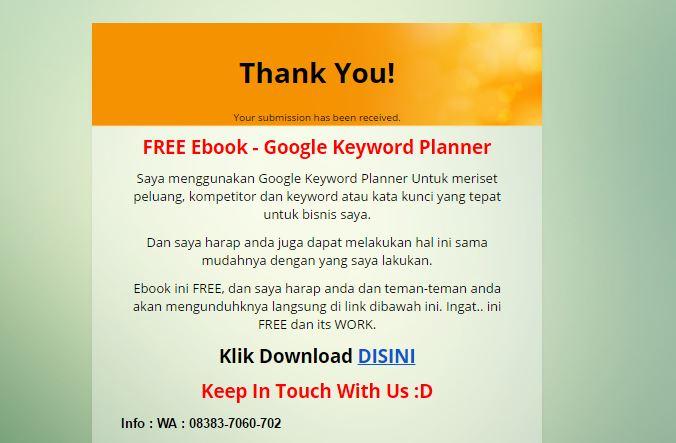 Download Ebook Google Keyword Planner
