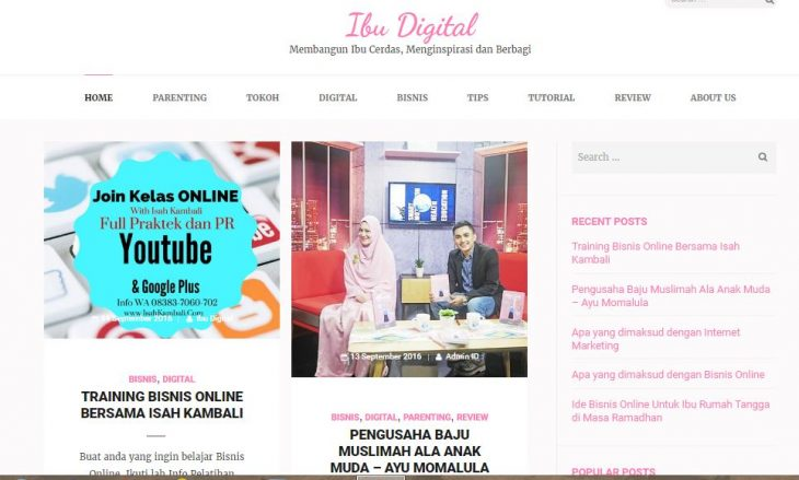 website ibu digital
