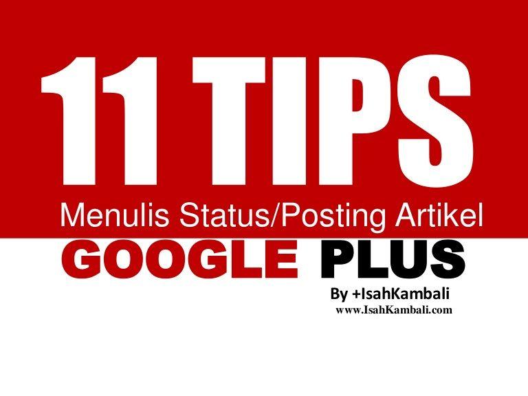 Memaksimalkan Google Plus dengan Vote, Comment, dan Share