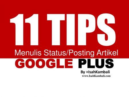 Memaksimalkan Google Plus dengan VCS