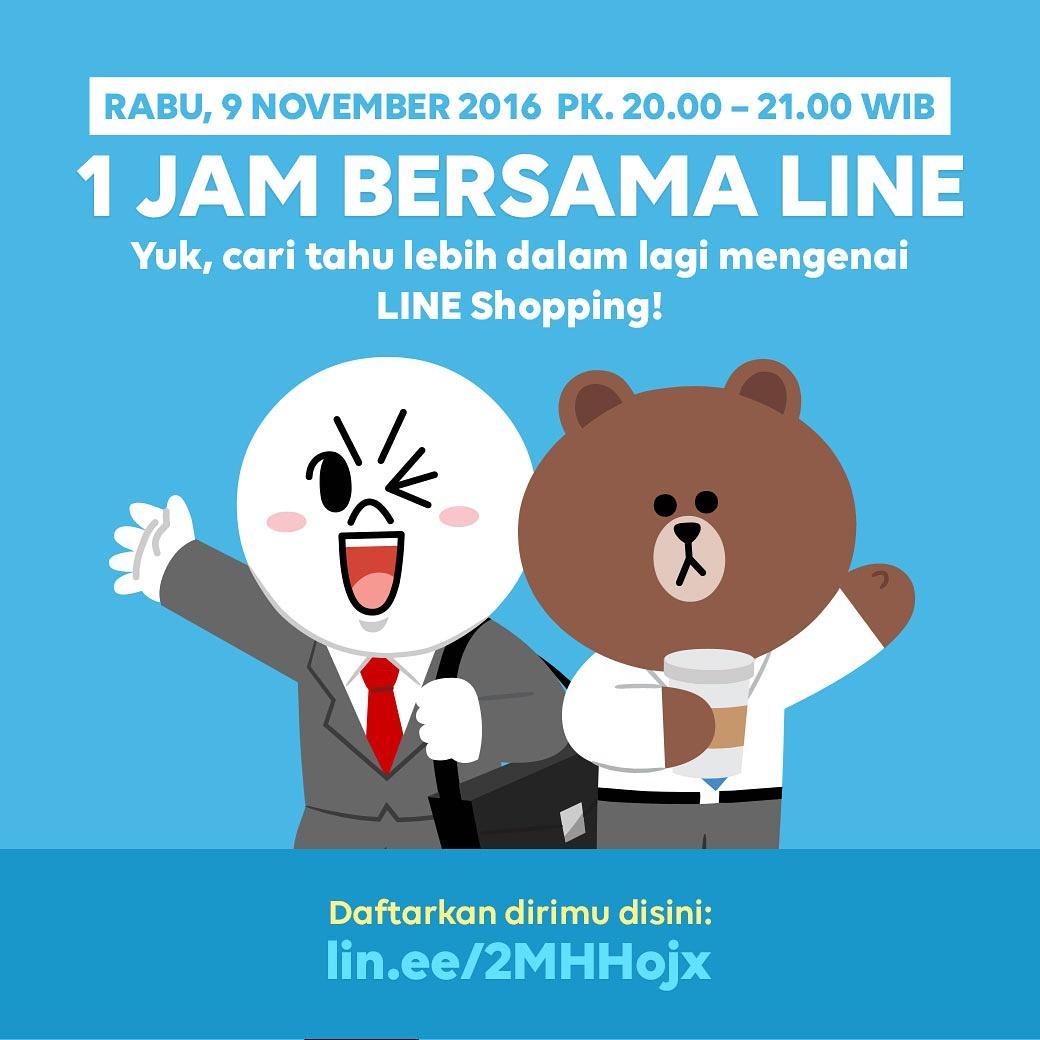 Seminar Online – 1 Jam Bersama LINE Indonesia