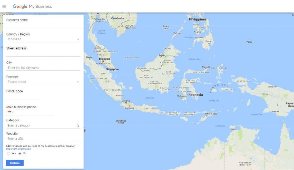 Cara membuat google maps