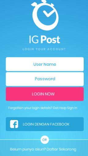 IGPost aplikasi instagram