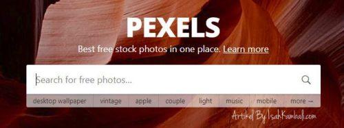 pexels website penyedia foto gratis