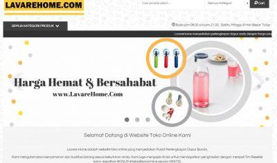 Project Lavare Home – Pusat Perlengkapan Dapur Bunda