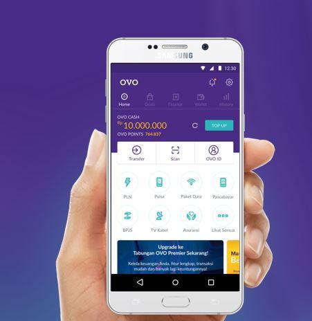 aplikasi ovo transfer antar bank gratis