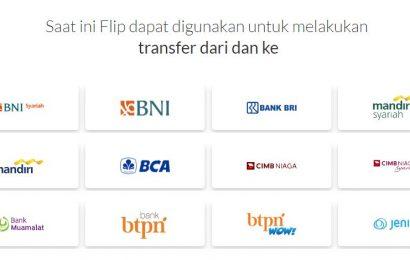 aplikasi flip transfer antar bank