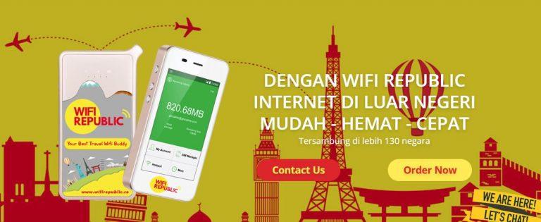 Tetep On di Kuala Lumpur Malaysia Pakai Modem Wifi Republic