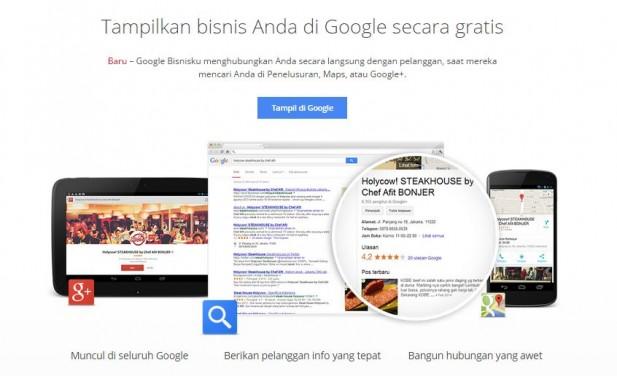 Verifikasi Bisnis dengan Google