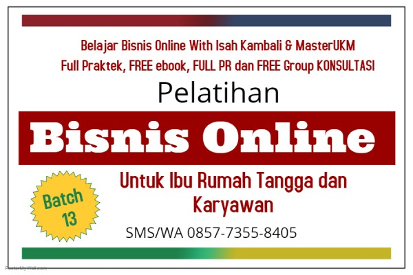 Training Belajar Internet Marketing Untuk Bisnis Online