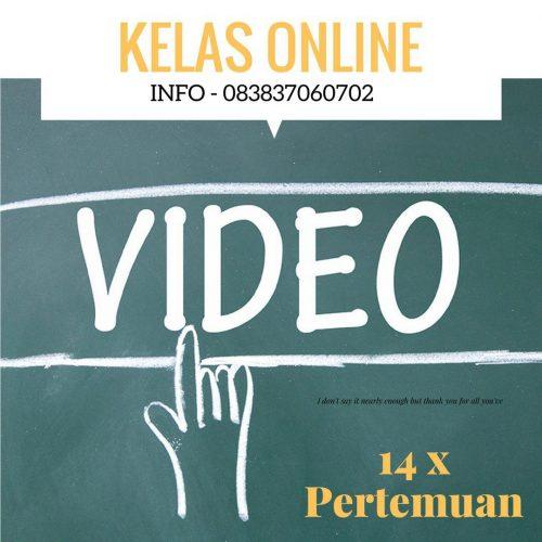 kelas online belajar video marketing